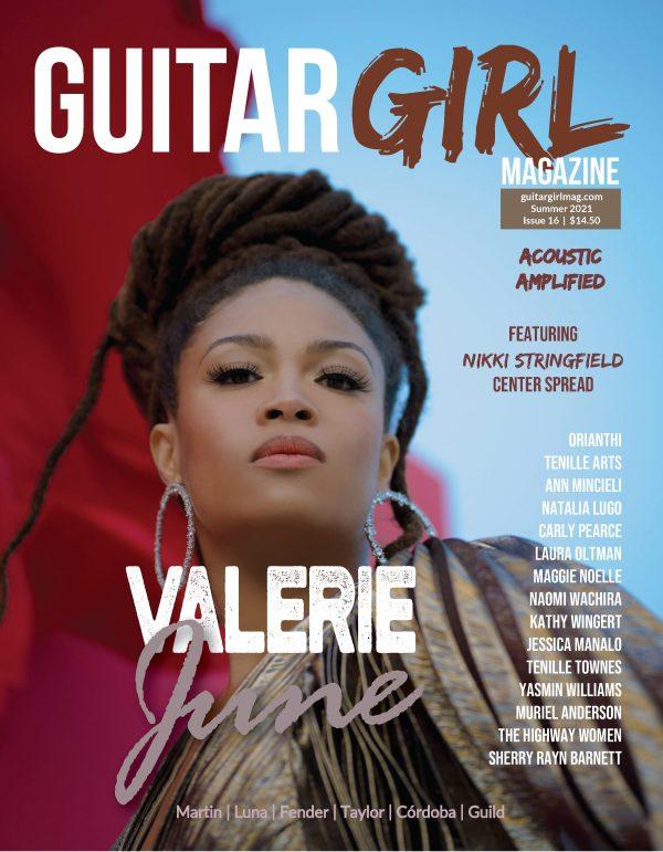 Guitar Girl Magazine Valerie June cover