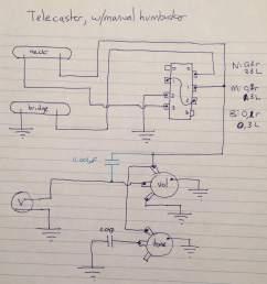 telecaster pickup wiring stack [ 2210 x 2418 Pixel ]