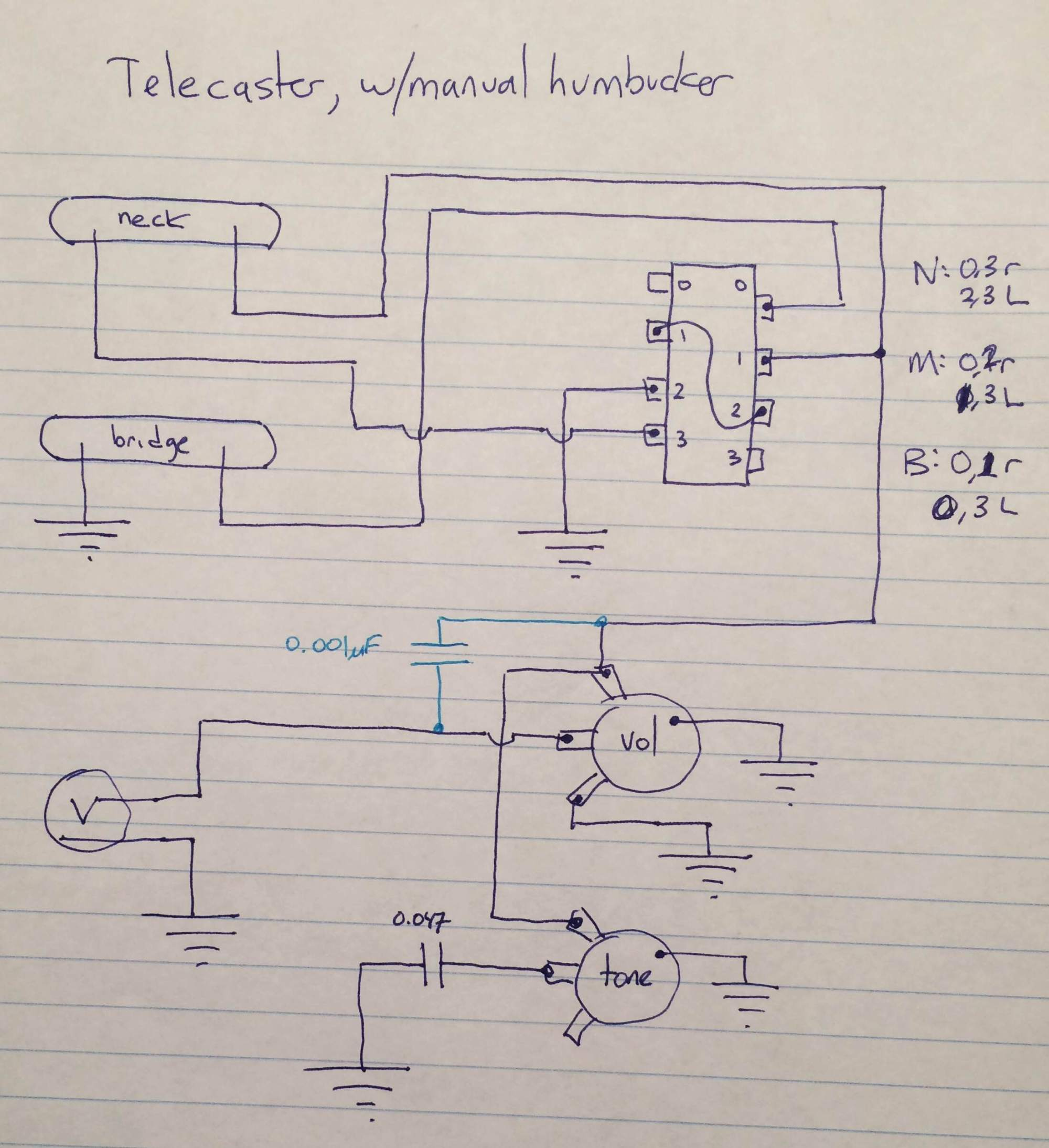 hight resolution of telecaster pickup wiring stack