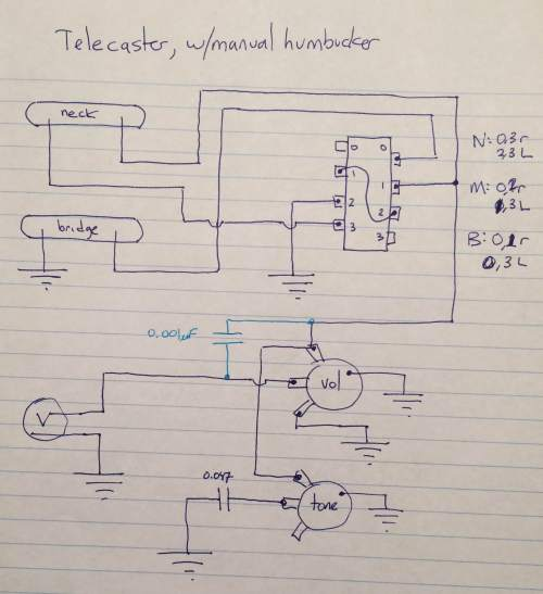small resolution of telecaster pickup wiring stack