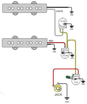 GuitarHeads Pickup Wiring  Bass Pickups
