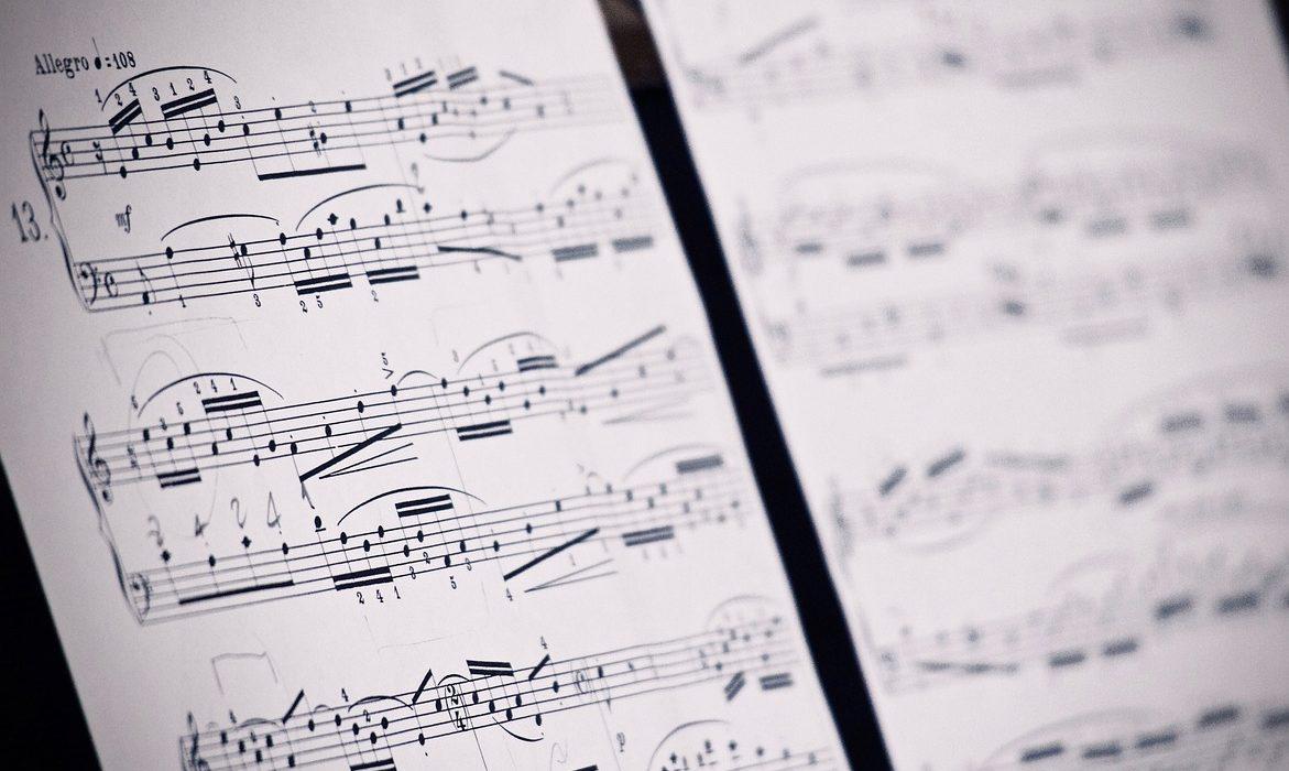 ソルフェージュを行うための楽譜