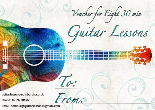 Ellie Guitar Lessons voucher