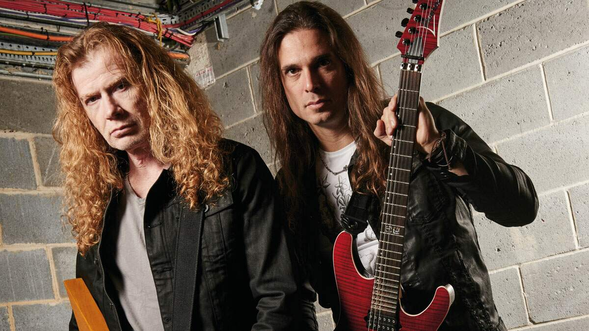 Dave Mustaine e Kiko Loureiro
