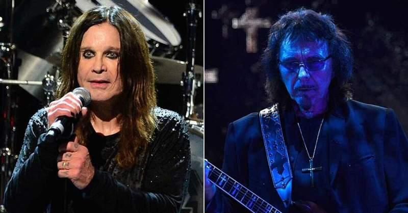 Ozzy Osbourne e Tony Iommi