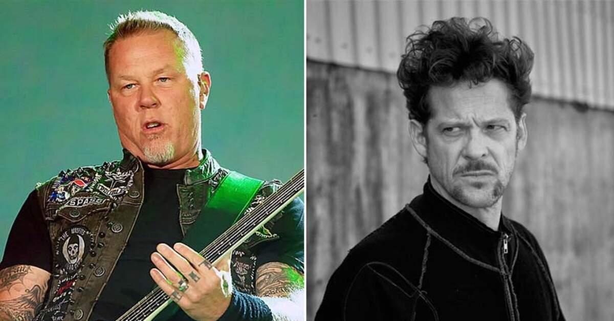 James Hetfield e Jason Newsted
