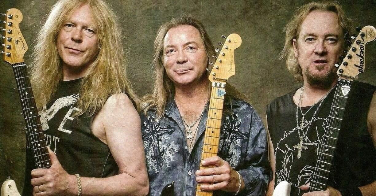 Iron Maiden três guitarristas