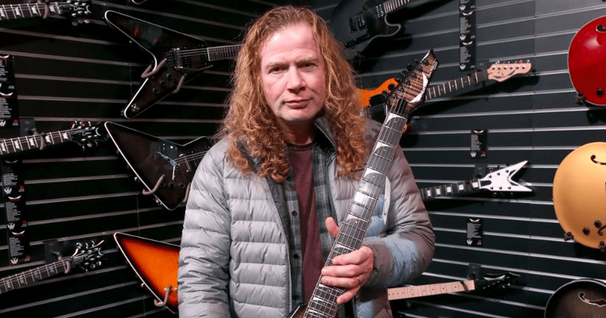 Dave Mustaine Tornado of Souls