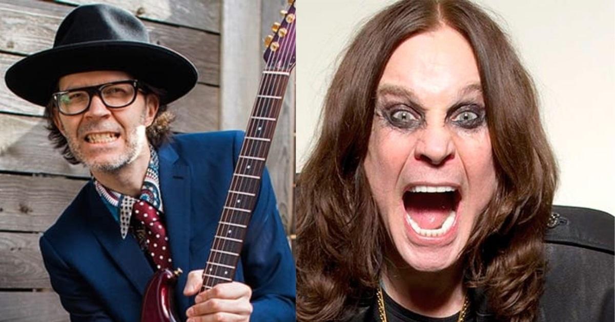 Paul Gilbert teste para Ozzy Osbourne