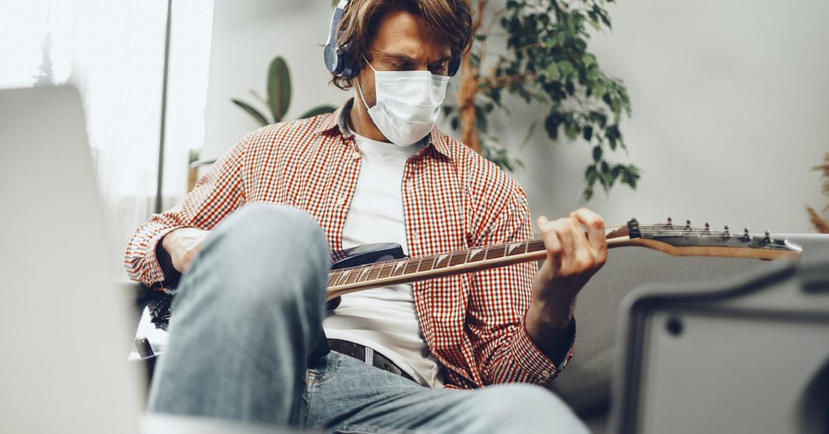 guitarra na pandemia