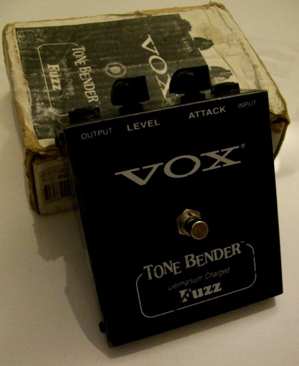 Vox Tone Bender Pedal