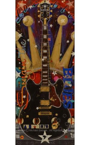 BB King Guitar Lucille Gibson ES 355