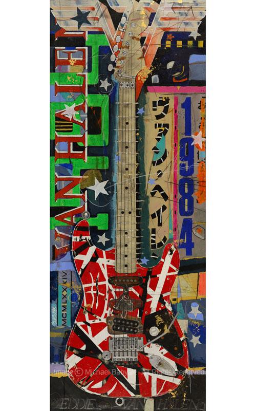 Eddie Van Halen Guitar Stratocaster Frankenstrat