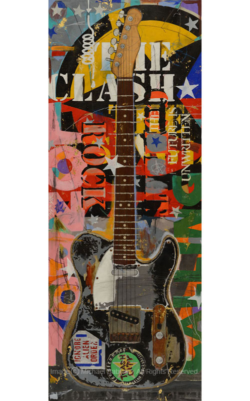 Joe Strummer Guitar Fender Telecaster