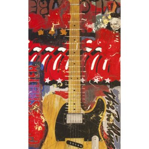 Keith Richards Guitar Micawber Fender Telecaster