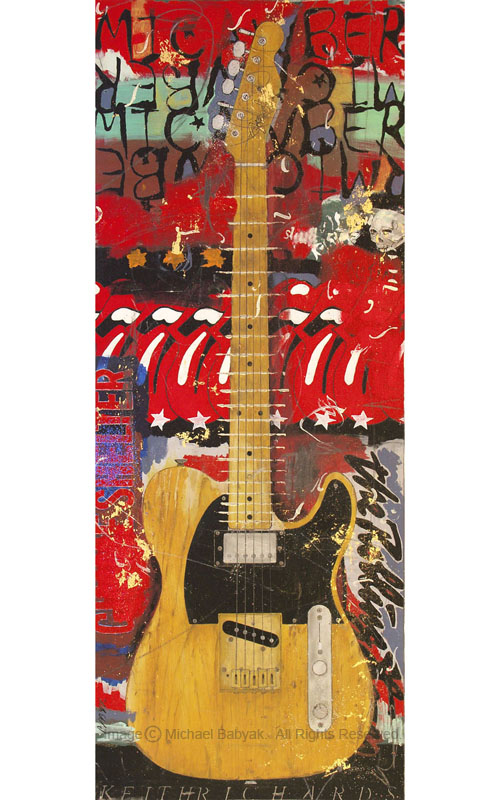 Keith Richards Guitar Micawber Fender Telecaster