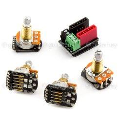 new emg solderless wiring kit 1 or 2 active pickups pot short shaftdetails about new emg [ 1600 x 1600 Pixel ]