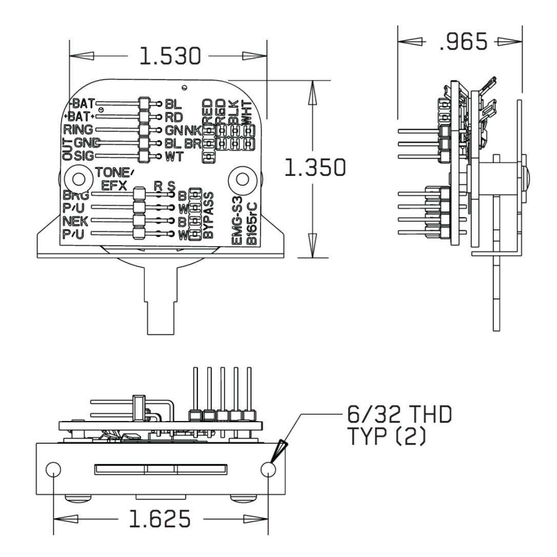 Emg Esp Wiring Diagrams