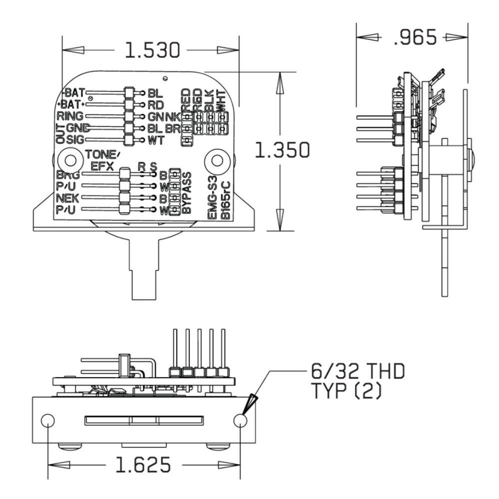 medium resolution of emg wiring diagram solderless strat epiphone les paul