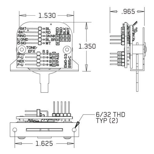 small resolution of emg wiring diagram solderless strat epiphone les paul