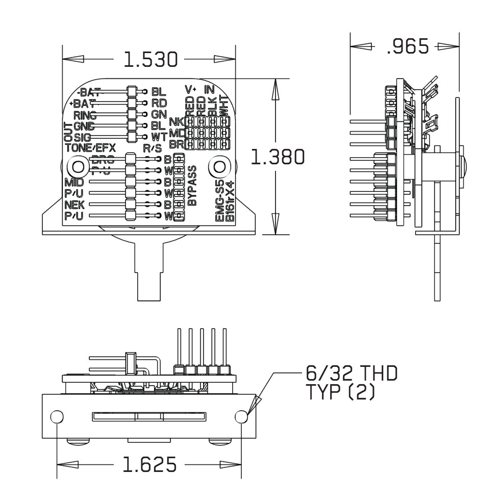 Emg Wiring Diagram 5 Way Switch : QUESTION Wiring an