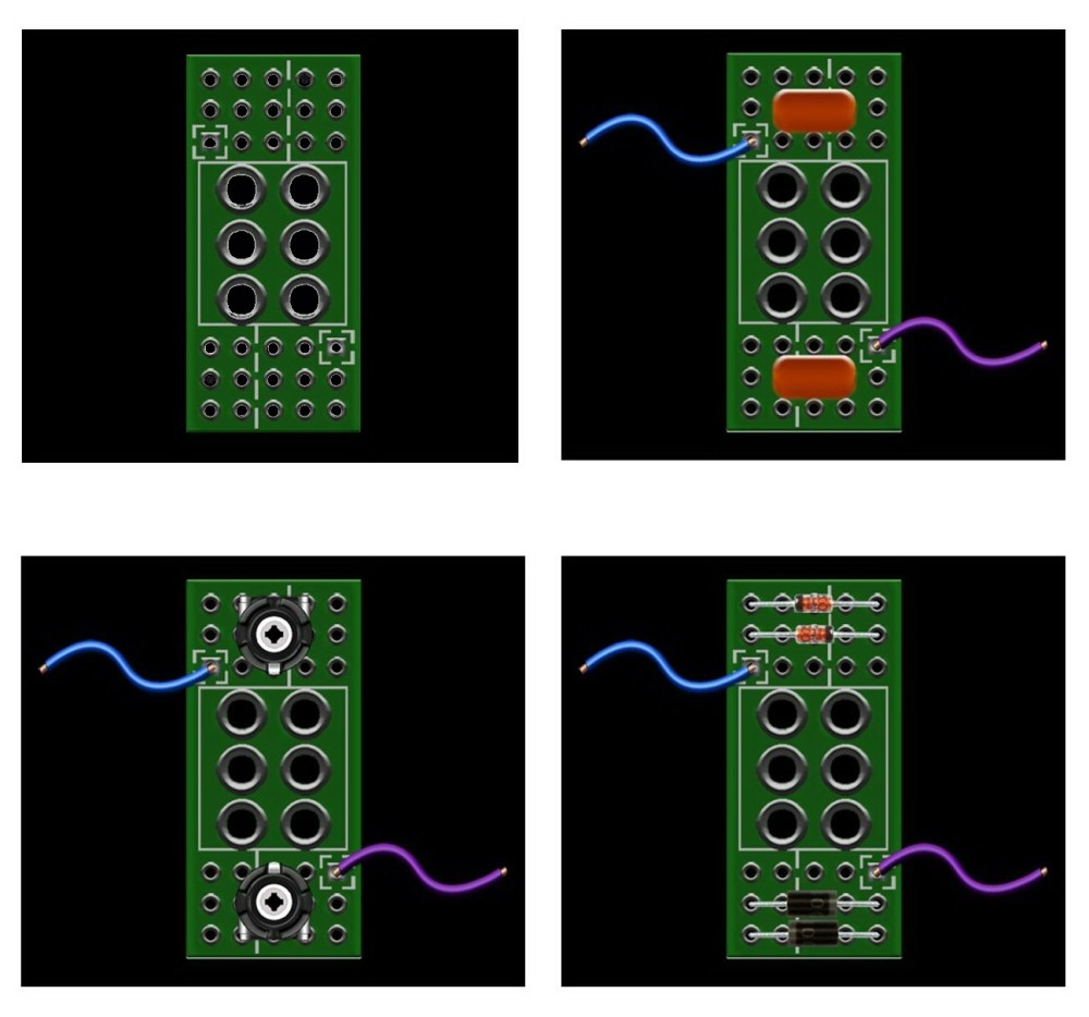 medium resolution of dpdt wiring board