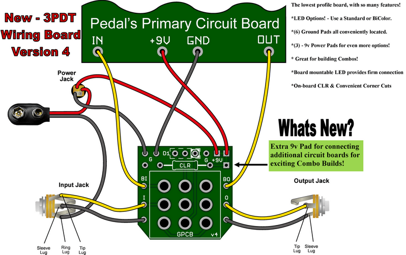Phenomenal 3Pdt Wiring Pcb Wiring Diagram Wiring Digital Resources Funapmognl