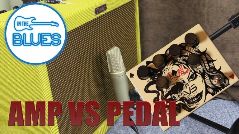 Amplifier overdrive vs overdrive pedal
