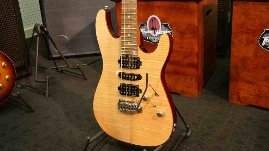 Harley Benton Fusion-HSH Roasted NT Electric Guitar