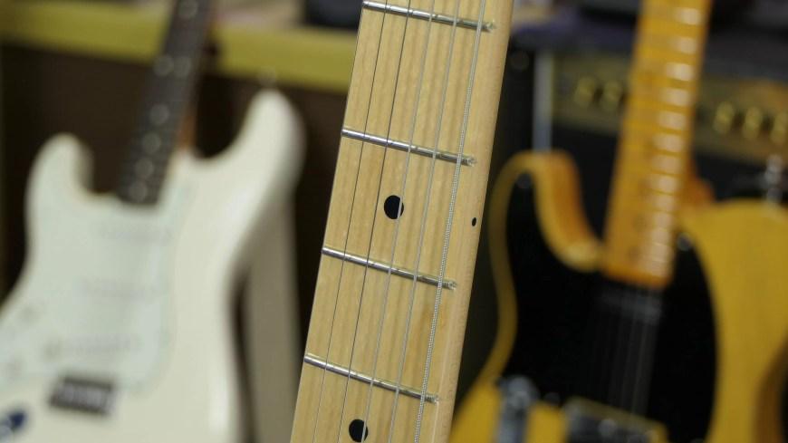 Fender Original Series 50s Telecaster Frets and Neck