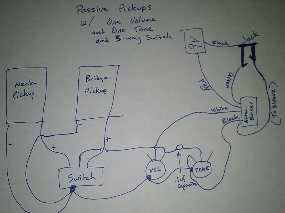 medium resolution of emg afterburner my guitar projects emg 85 wiring diagram emg ab wiring