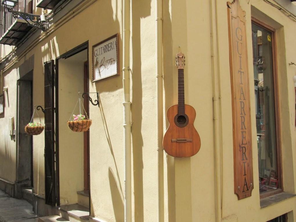 Guitarra de Granada Guitarreria Bitar