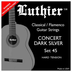 Luthier 45 Dark Silver