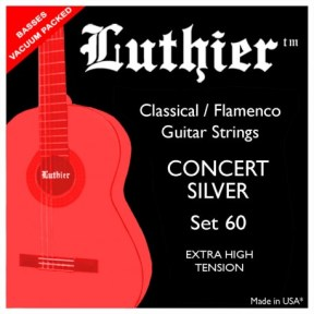 Luthier 60 Concert Silver