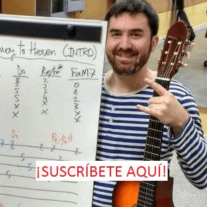 suscribete a mi web de clases de guitarra y ukelele