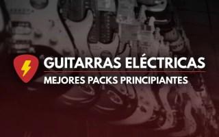 Pack guitarra eléctrica principiantes