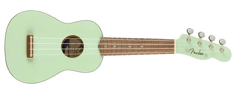 Mejores marcas de ukelele: Fender