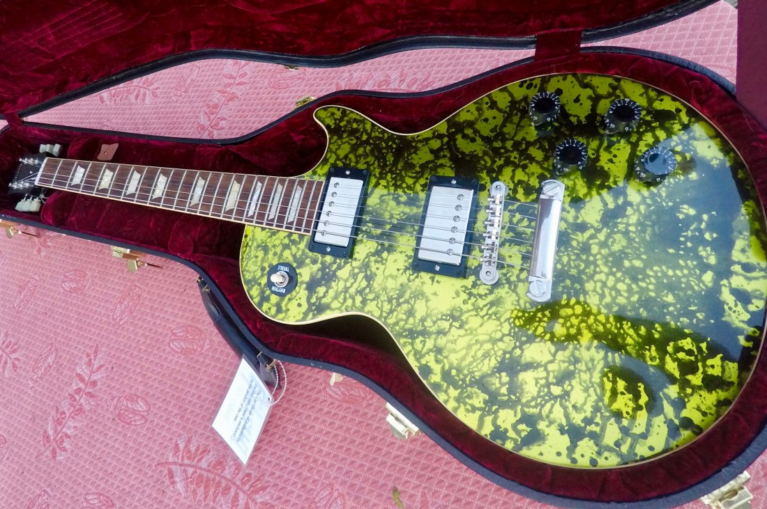 Gibson Les Paul Splatter