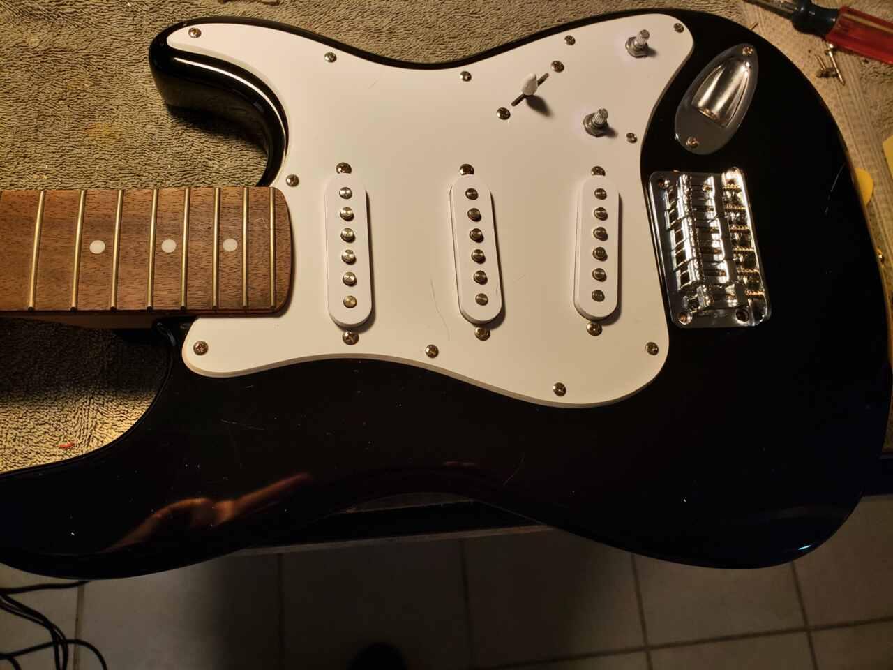 Fender Squier Mini Wiring Diagram on