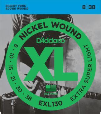 D'Addario Electric Guitar String EXL130 Front