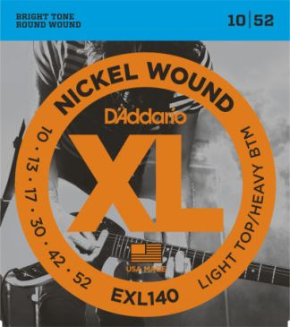 D'Addario Electric Guitar String EXL140 Front