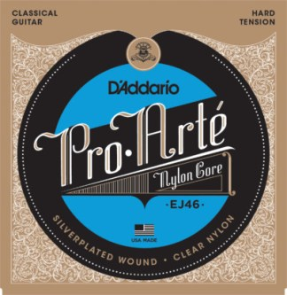 D'Addario Acoustic Nylon Guitar EJ46 Front