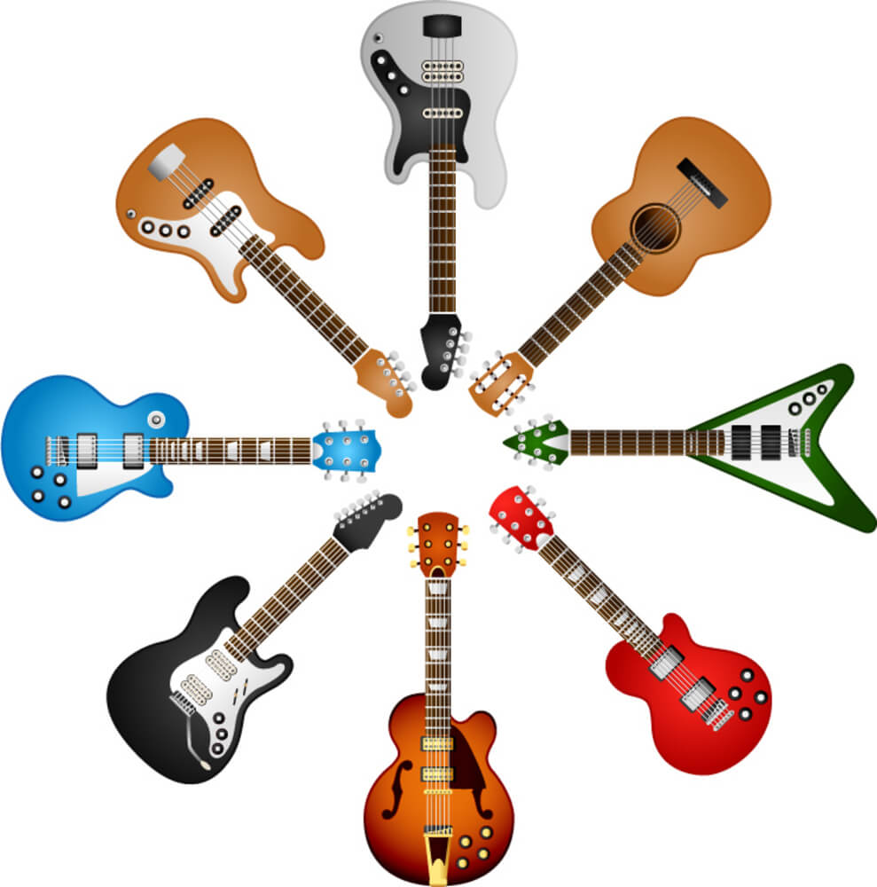 Guitar shape