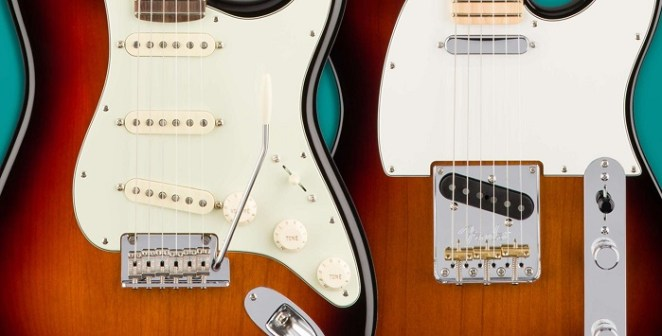 Electronic strat vs tele