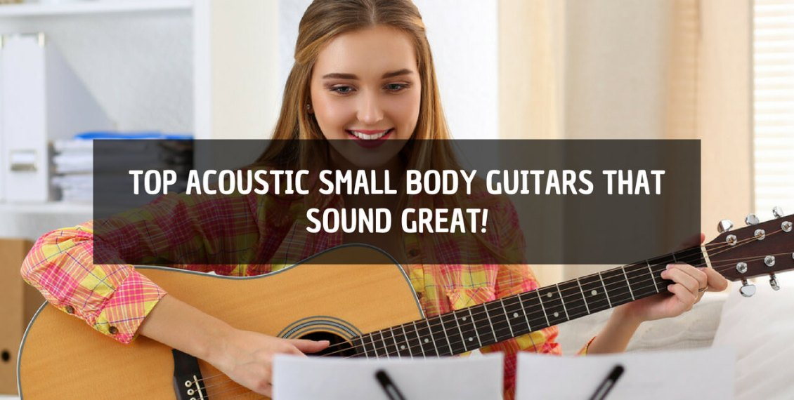 acoustic small body guitar