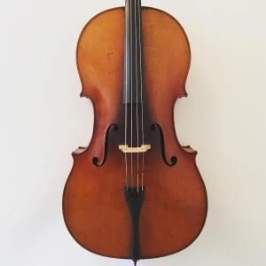 French cello circa 1900