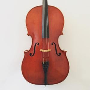 Modern American cello made in the workshops of W.H. Lee