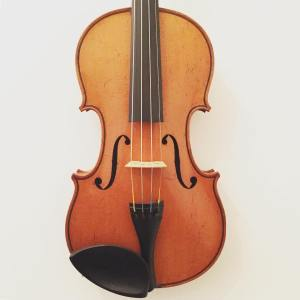 7/8 size French violin by Ch. J.B. Collin-Mezin dated 1896