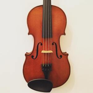7/8 size French violin by Ch. J.B. Collin-Mezin dated 1900