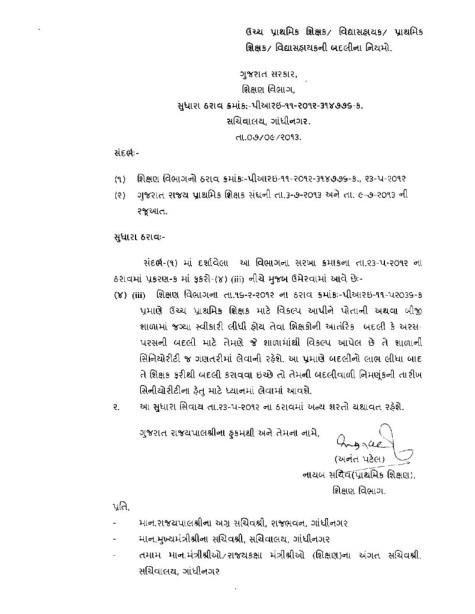 Vikalp Svikarel Shikshako Ni Seniority Babat Paripatra-page-001